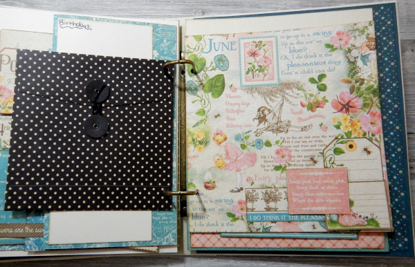 2017 Scrapbook Planner, Children's Hour, By Katelyn Grosart, Product By Graphic 45, Photo 47