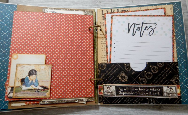 2017 Scrapbook Planner, Children's Hour, By Katelyn Grosart, Product By Graphic 45, Photo 69