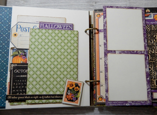 2017 Scrapbook Planner, Children's Hour, By Katelyn Grosart, Product By Graphic 45, Photo 72