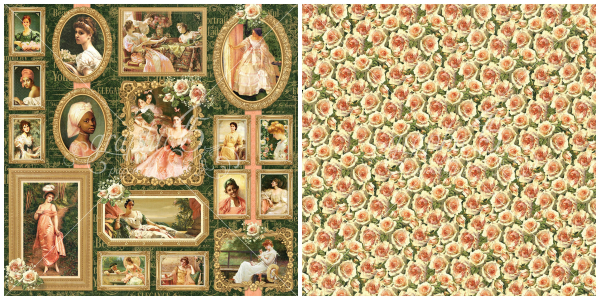 6 - Elizabeth, a page from Portrait of a Lady,  a new collection from Graphic 45!