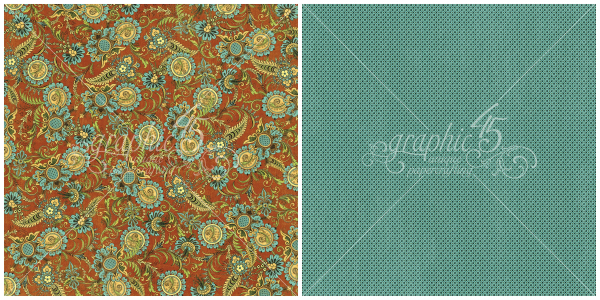 4 - Exquisite Motif, a page from Olde Curiosity Shoppe, a Deluxe Collector's Edition from Graphic 45!