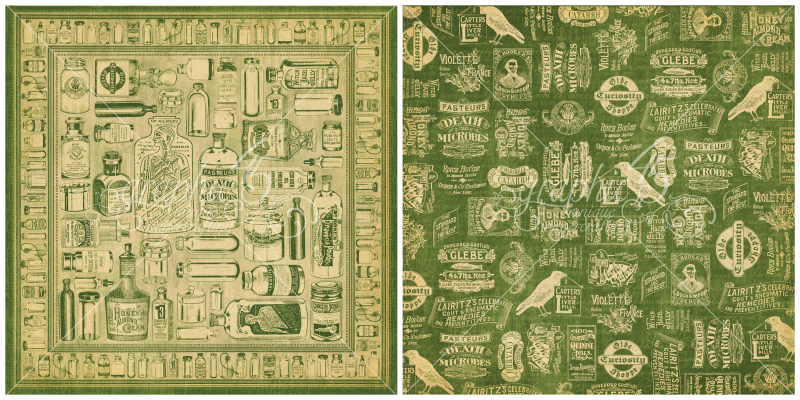 10 - Apothecary, a page from Olde Curiosity Shoppe, a Deluxe Collector's Edition from Graphic 45!