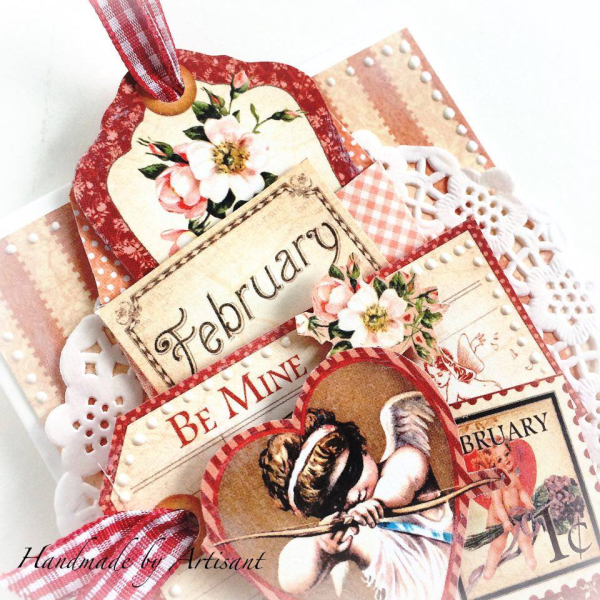 Place in Time Romantic Valentine's Card for Graphic 45, by Aneta Matuszewska, photo 2