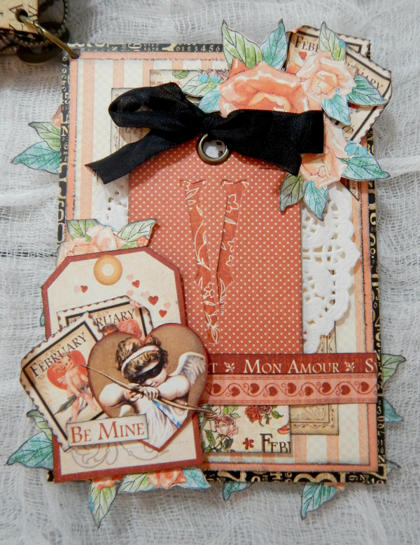 LOVE Mini Album, Cafe Parisian-Children's Hour & Place In Time DCE, By Katelyn Grosart, Product By Graphic 45, Photo 10