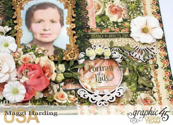 Mema layout, Portrait of a Lady, Maggi Harding, Graphic 45 (2)