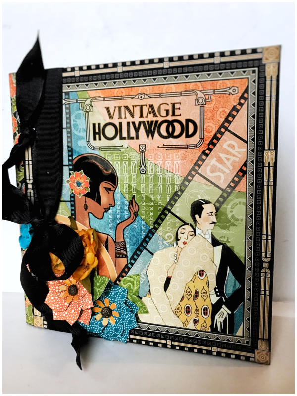 Vintage Hollywood Mixed Media Album by Graphic 45