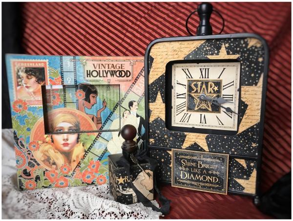 Vintage Hollywood Sneak Peeks Graphic 45