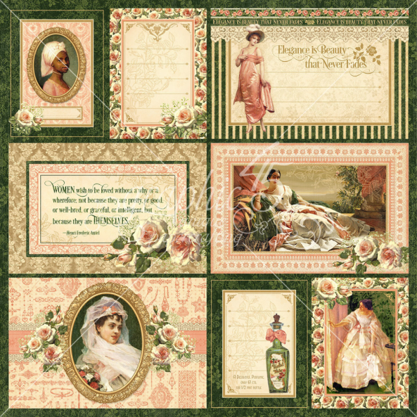Portrait of a Lady Journaling & Ephemera Cards - these will come pre-cut!