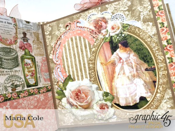 Portrait of a Lady square tag album by Maria Cole