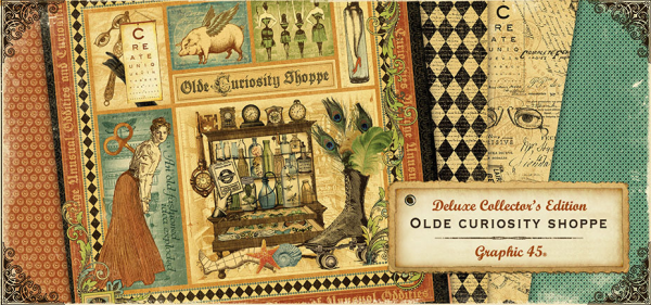 Olde Curiosity Shoppe Deluxe Collector's Edition from Graphic 45