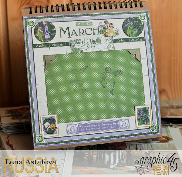 Calendar- Children's hour- by Lena Astafeva-products by Graphic 45 (5 из 26)