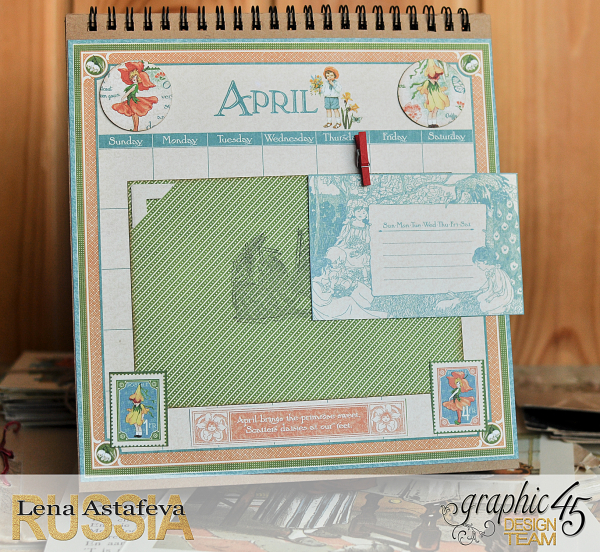 Calendar- Children's hour- by Lena Astafeva-products by Graphic 45 (8 из 26)