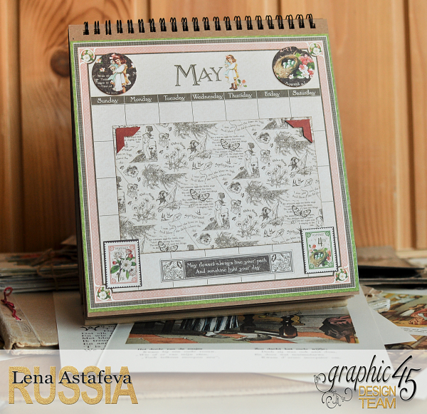 Calendar- Children's hour- by Lena Astafeva-products by Graphic 45 (9 из 26)