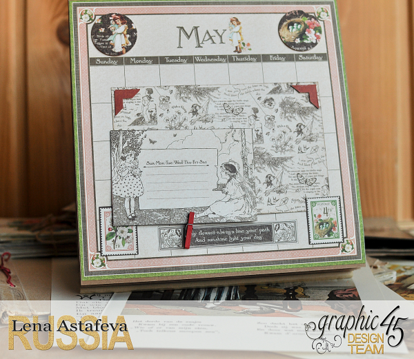 Calendar- Children's hour- by Lena Astafeva-products by Graphic 45 (10 из 26)