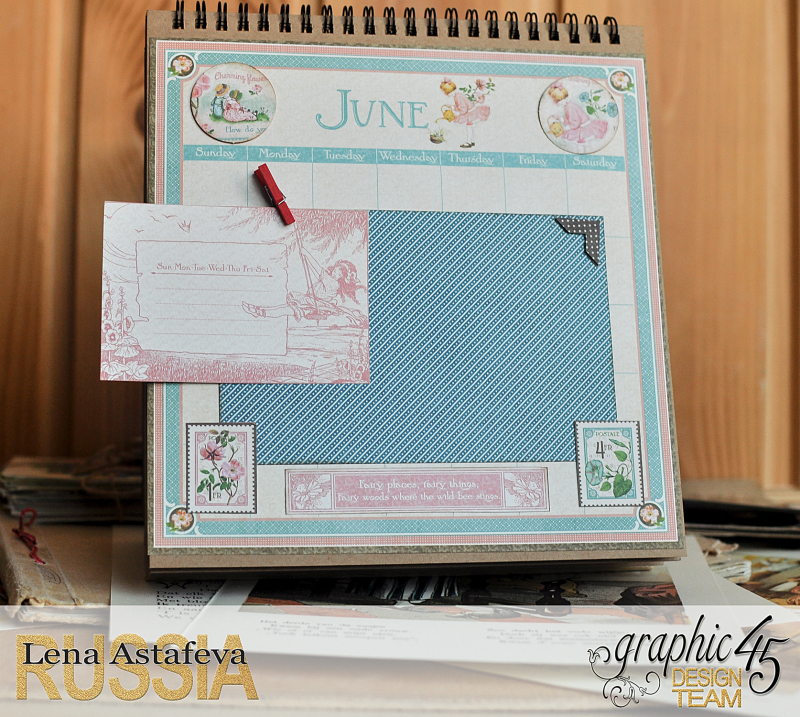 Calendar- Children's hour- by Lena Astafeva-products by Graphic 45 (12 из 26)