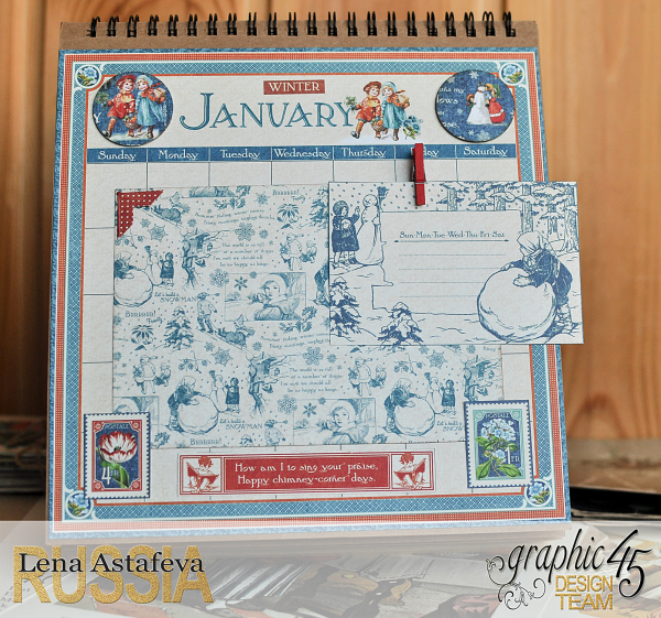 Calendar- Children's hour- by Lena Astafeva-products by Graphic 45 (2 из 26)