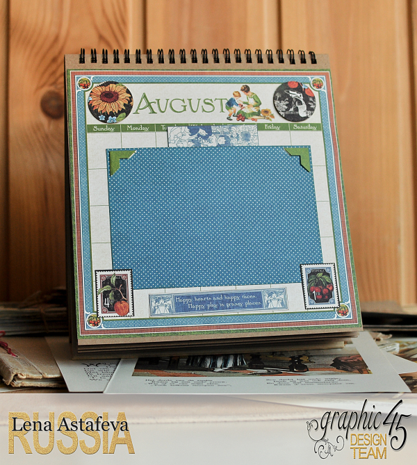 Calendar- Children's hour- by Lena Astafeva-products by Graphic 45 (16 из 26)