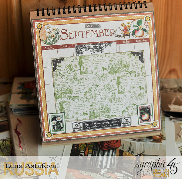 Calendar- Children's hour- by Lena Astafeva-products by Graphic 45 (20 из 26)