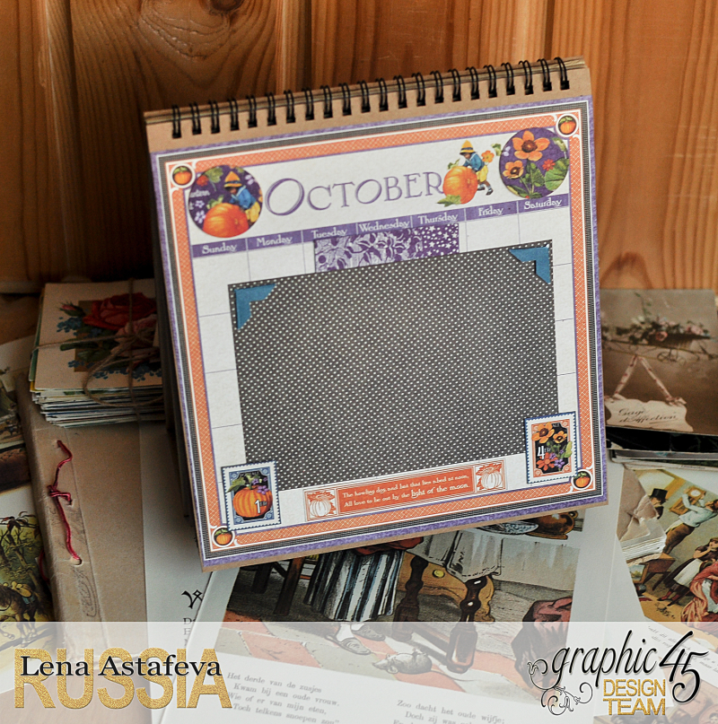 Calendar- Children's hour- by Lena Astafeva-products by Graphic 45 (22 из 26)