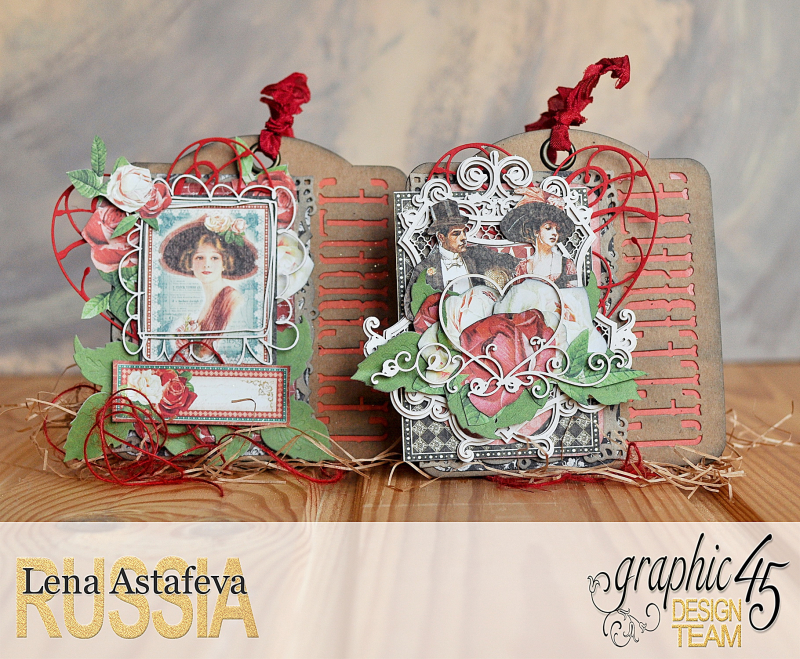 Tags-Off to the Races- by Lena Astafeva-products by Graphic 45 (1 из 22)