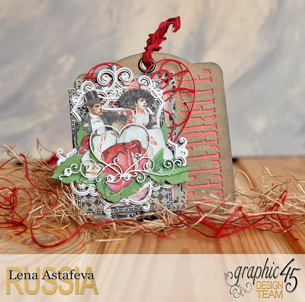 Tags-Off to the Races- by Lena Astafeva-products by Graphic 45 (5 из 22)