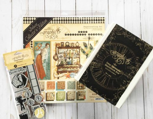 Graphic 45 prize pack from Creative Scrapbooker Magazine