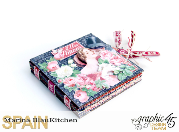Love Album Policy Envelopes Tutorial by Marina Blaukitchen Product by Graphic 45 photo 1
