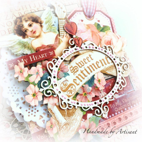 -Place in Time- and -Sweet Sentiments- envelopes Valentines album for Graphic 45 by Aneta Matuszewska, photo 3