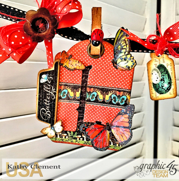 Butterfly Kisses ATC Banner Tutorial, Nature Sketchbook, by Kathy Clement, Photo 3
