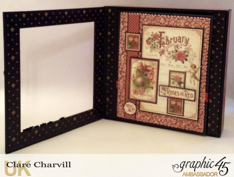 Vintage Valentine Album in a Box 2a Clare Charvill Graphic 45