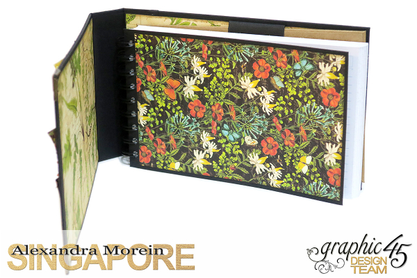 Nature Sketchbook Box&Notebook&ATC, Tutorial by Alexandra Morein, Product by Graphic 45, Photo 15