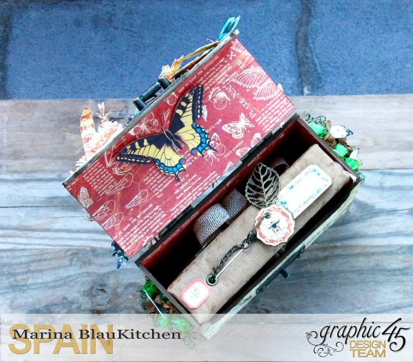 Box And Album Nature Sketchbook by Marina Blaukitchen Product by Graphic 45 photo 41