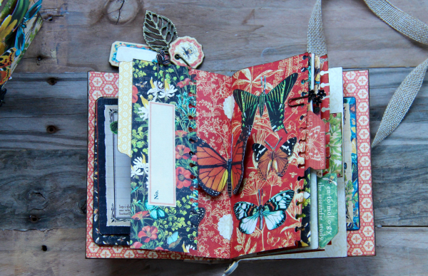 Box And Album Nature Sketchbook by Marina Blaukitchen Product by Graphic 45 photo 14
