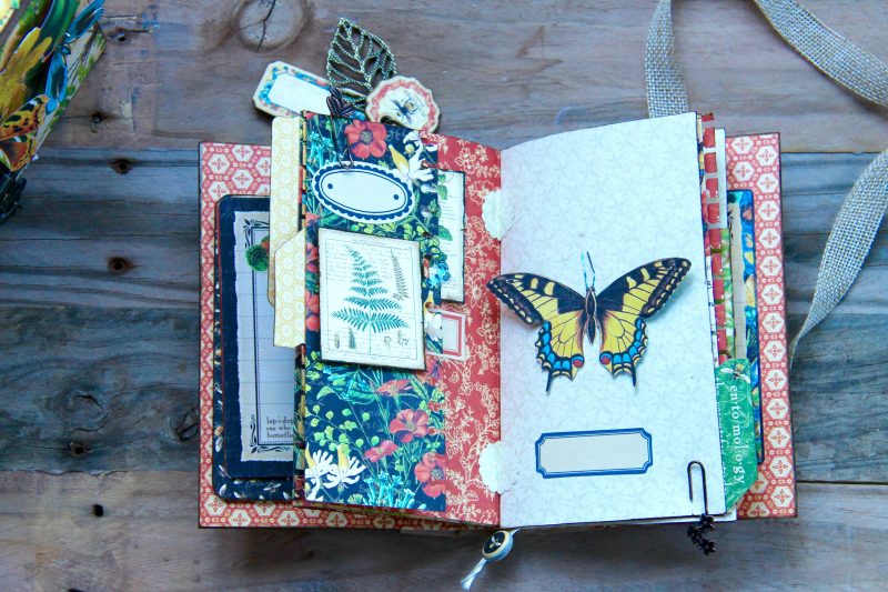 Box And Album Nature Sketchbook by Marina Blaukitchen Product by Graphic 45 photo 17