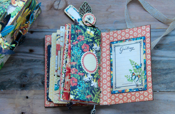 Box And Album Nature Sketchbook by Marina Blaukitchen Product by Graphic 45 photo 38