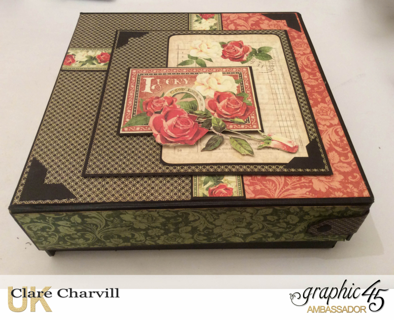 Off to the Races Album 2 Clare Charvill Graphic 45