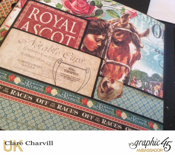Off to the Races Album 6 Clare Charvill Graphic 45