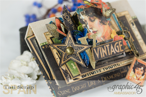 Tati  Vintage Hollywood Album  Product by Graphic 45  Photo 17