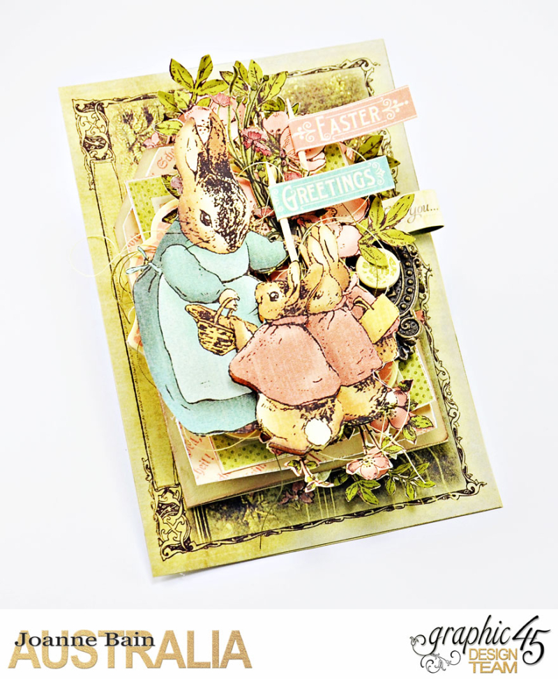 Easter-Card -Once-Upon-A-Springtime -Tutorial-By-Joanne-Bain -Product-by-Graphic-45 -Photo-1