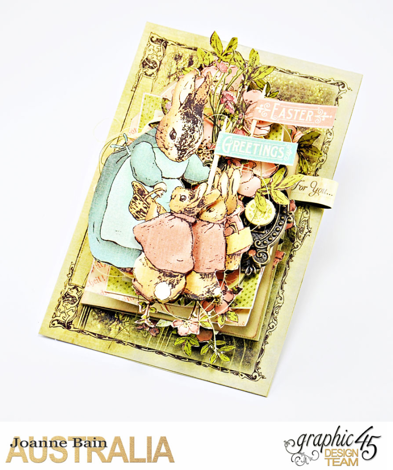 Easter-Card -Once-Upon-A-Springtime -Tutorial-By-Joanne-Bain -Product-by-Graphic-45 -Photo-2