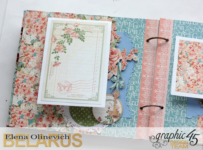 Album  Secret Garden  by Elena Olinevich  product by Graphic45  photo1a