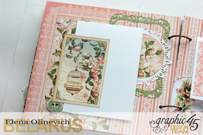 Album  Secret Garden  by Elena Olinevich  product by Graphic45  photo4