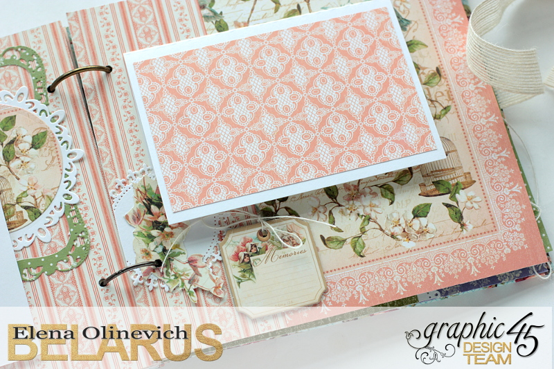 Album  Secret Garden  by Elena Olinevich  product by Graphic45  photo5