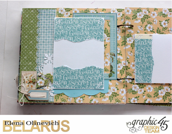 Album  Secret Garden  by Elena Olinevich  product by Graphic45  photo6