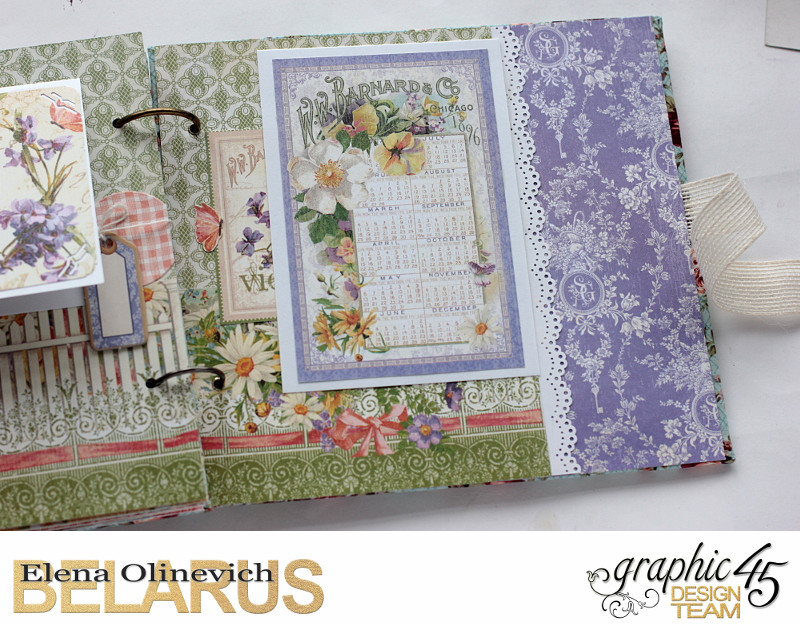 Album  Secret Garden  by Elena Olinevich  product by Graphic45  photo7d