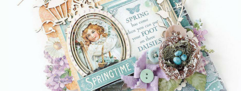Spring Home decor aneta graphic 45