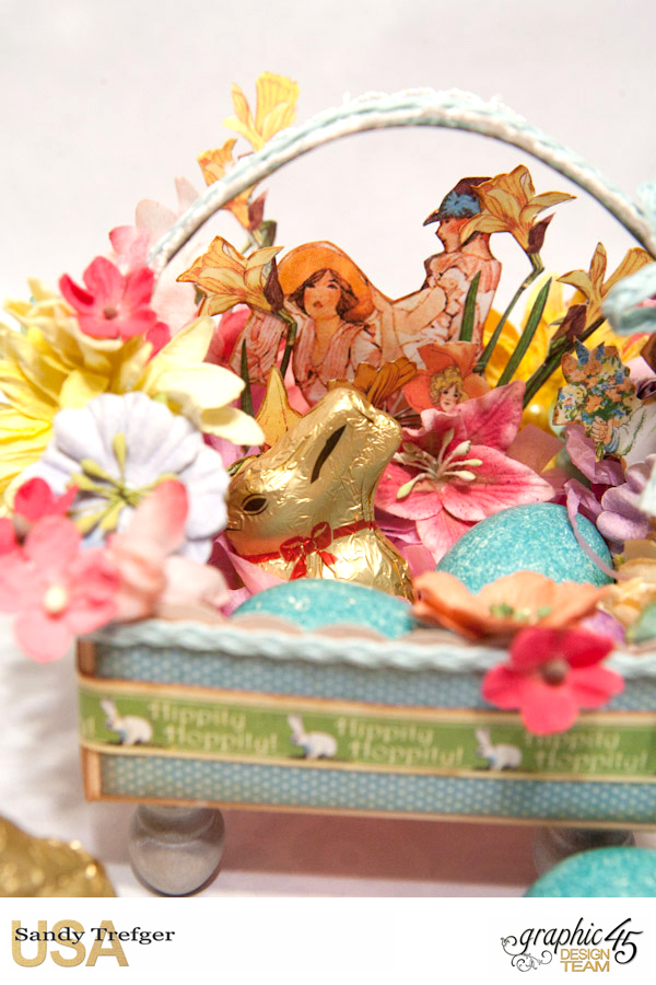 Easter Basket  Place in Time  Childrens Hour  by Sandy Trefger  Product by Graphic 45  Photo 2