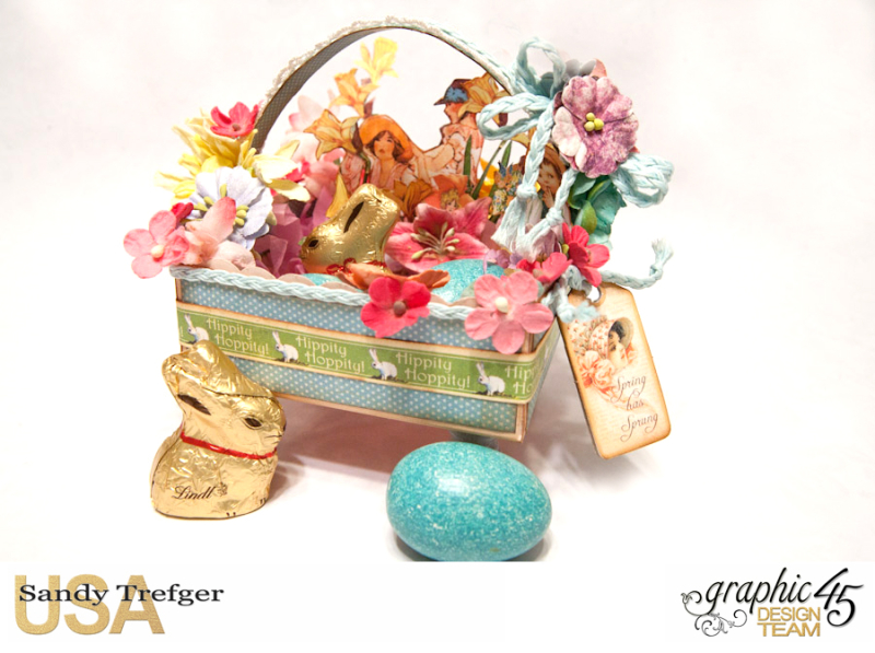 Easter Basket  Place in Time  Childrens Hour  by Sandy Trefger  Product by Graphic 45  Photo 4