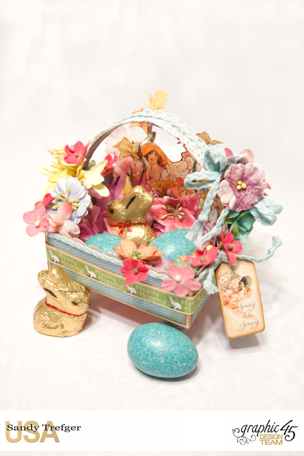 Easter Basket  Place in Time  Childrens Hour  by Sandy Trefger  Product by Graphic 45  Photo 3