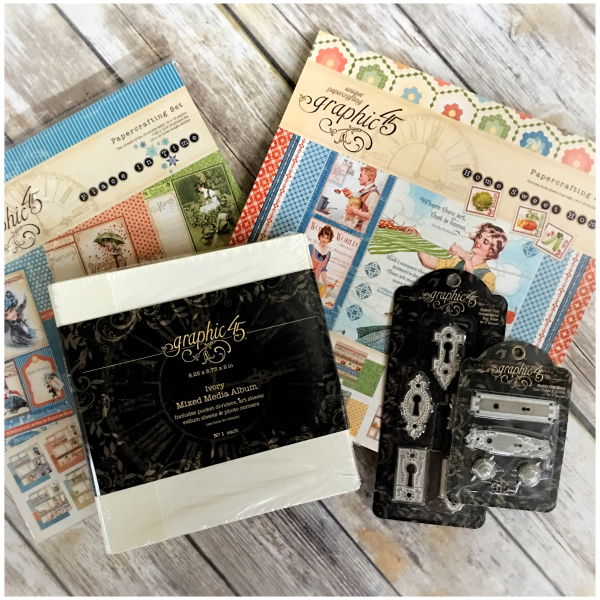 Home sweet home  place in time  deluxe collector's edition  prize package  $85  Graphic 45